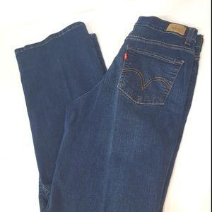 Levi's 512 Boot Cut Skinny Jeans
